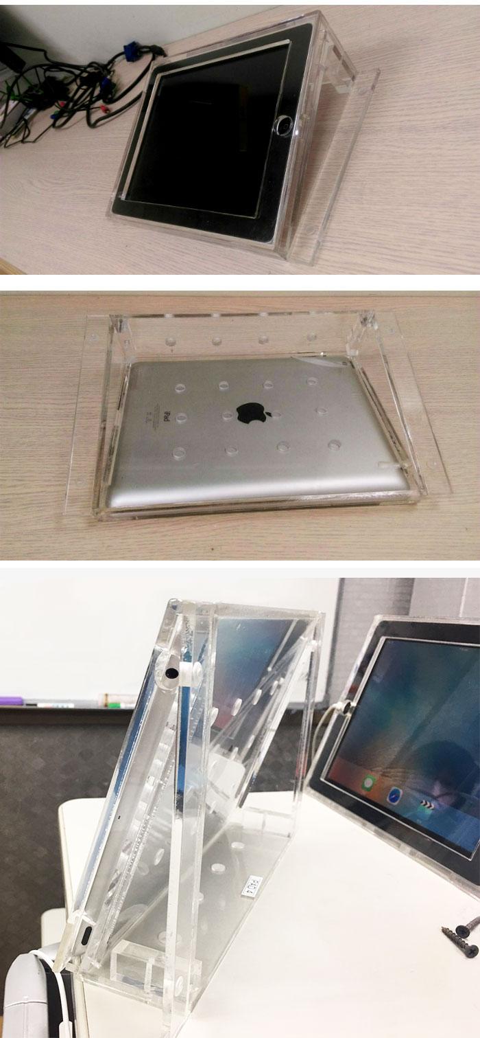 ipad4壓克力-平板架